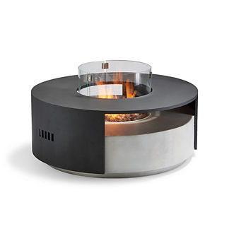 Linden Round Fire Table