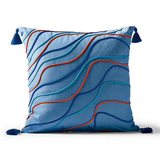 Heat Wave Outdoor Pillow