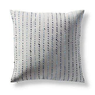 Knotted Ellipses Square Outdoor Pillow