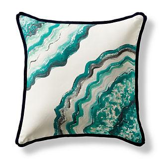 Sliced Outdoor Pillow