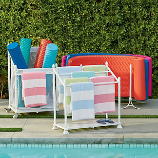 Sinclair Pool Storage, Set of Three