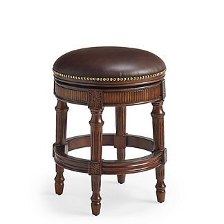 Chapman Backless Counter Height Stool in Mahogany