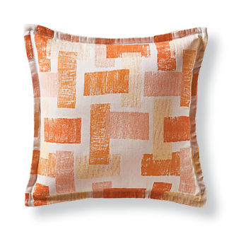 Artists Block Sunset Flanged Outdoor Pillow
