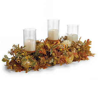 Sienna Hills Candle Holder Centerpiece