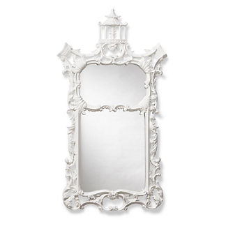 Temple Chinoiserie Wall Mirror