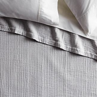 Ruched Stonewashed Blanket