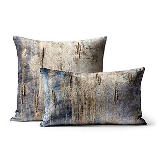 Evie Velvet Decorative Square Pillow
