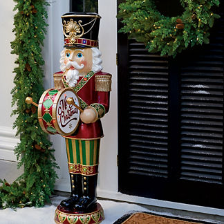 58 - Nutcracker Outdoor Christmas Decorations