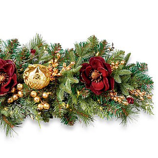 Grand Regency Cordless 6' Indoor Garland
