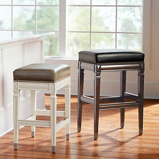 Wexford Rectangular Backless Bar & Counter Stool