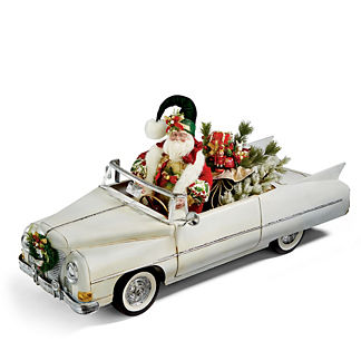 Mark Roberts Convertible Car Santa