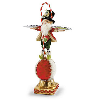 Mark Roberts Elf with Candy Cane and Platters