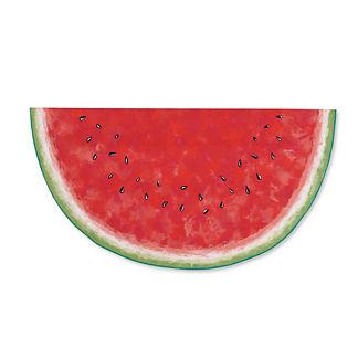 Watermelon Slice Half-round Door Mat
