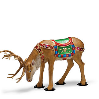Fiber-optic Ellesmere Head-down Reindeer