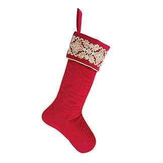 Christmas Velvet Stocking