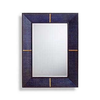 Langley Raffia Mirror
