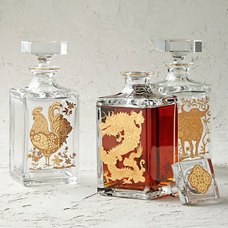 Vista Alegre Zodiac Decanter