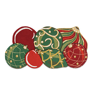 Christmas Ornament Door Mat