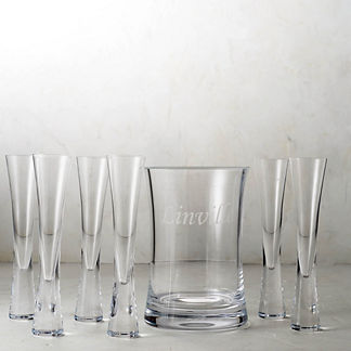 Moya Champagne 7-piece Set