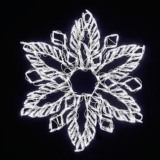 LED Fern Snowflake