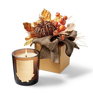 Lux Fall Chai Tea-scented Candle in a Harvest Gift Box