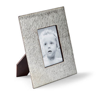 Hair on Hide Picture Frame