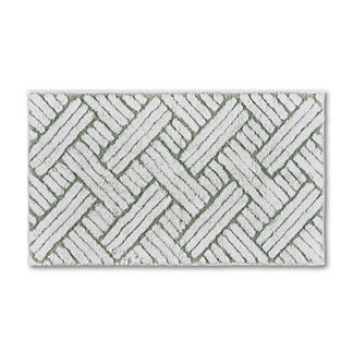 Resort Basketweave Bath Rug