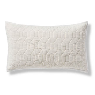 Laney Quilted Velvet Pillow Sham