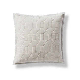 Laney Quilted Velvet Decorative Pillow Cover