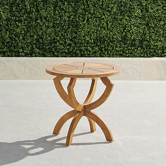 Horizon Teak Side Table
