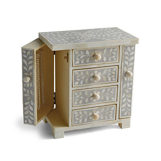 Giana Bone Inlay Jewelry Box