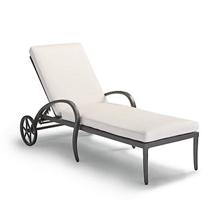 Brentwood Chaise in Carbon Finish