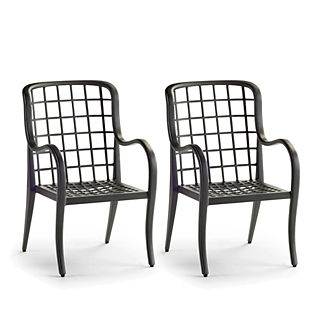 Brentwood Set of Two Dining Arm Chairs