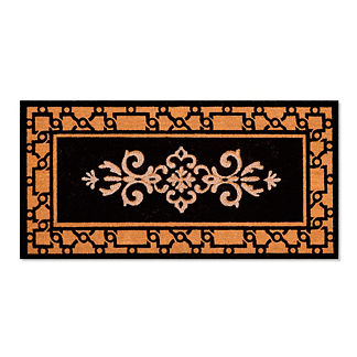 Crestview Medallion Coco Door Mat