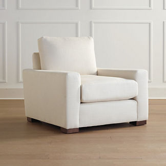 Berkeley Broad-Arm Lounge Chair, Special Order