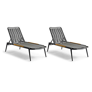Kittery Set of Two Chaises