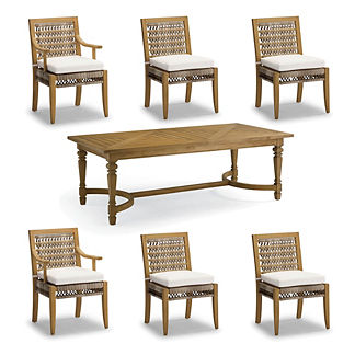Laguna 7-pc. Rectangle Dining Set