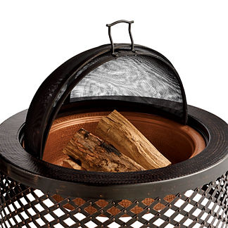 Carlyn Fire Pit Sparkguard