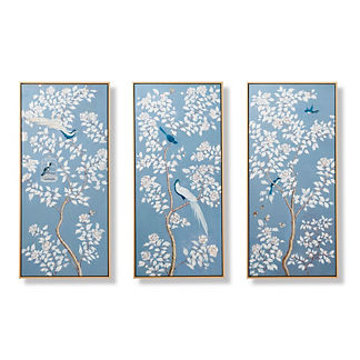 Annette Handpainted Triptych