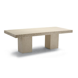 Emerson Faux Stone Dining Table