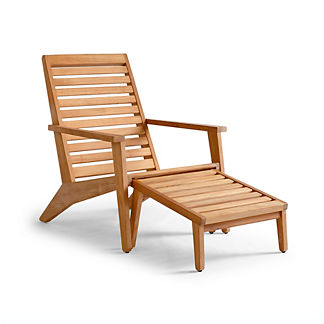 Reeve Chair and Ottoman