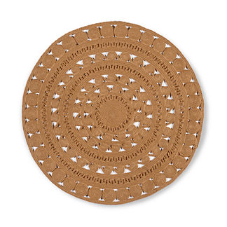 Ilia Round Indoor/Outdoor Rug