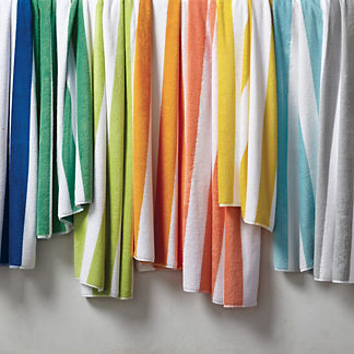 Resort Cabana Stripe Beach Towel