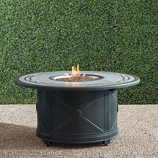 Paloma Round Gas Fire Table