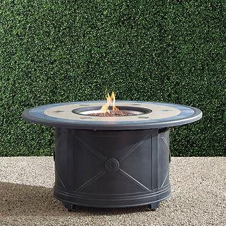 Theia Custom Gas Fire Table