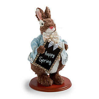 Mark Roberts Server Rabbit with Chalkboard