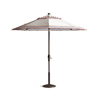 Carnival Stripe Designer Umbrella