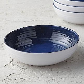 Alfresco Melamine Bowls, Set of Four