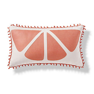 Citrus Slice Outdoor Pillow