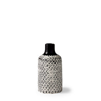 Chiara Ceramic Low Vase